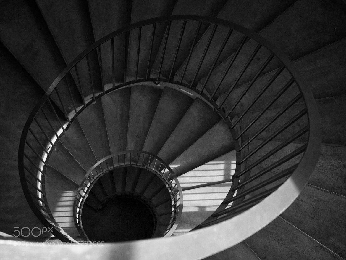 Photograph Spiral staircase by Thomas Andersen on 500px