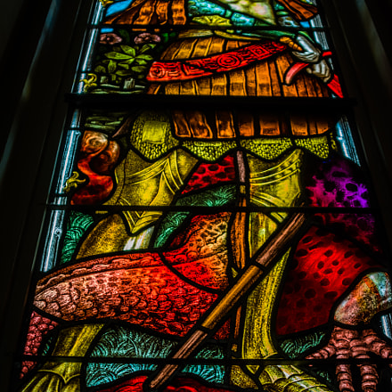 stain glass window, Nikon D7100, Sigma 28-200mm F3.5-5.6 Compact Aspherical Hyperzoom Macro