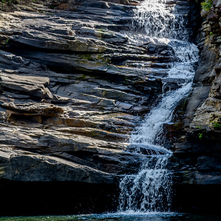 Lulu lake waterfall, Nikon D7100, Sigma 28-200mm F3.5-5.6 Compact Aspherical Hyperzoom Macro