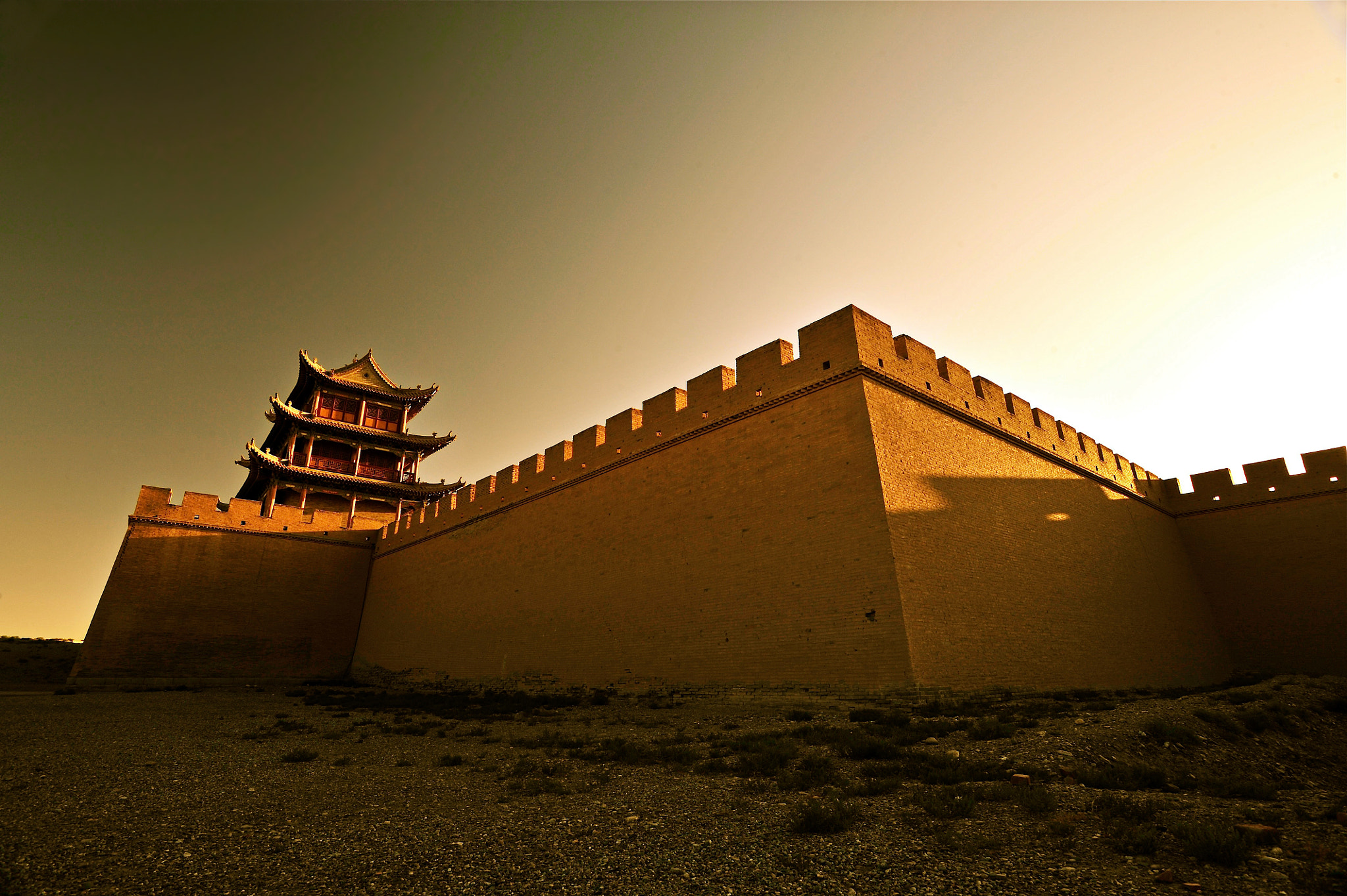 Photograph The Great Wall of Jayu Pass by Little Sky on 500px