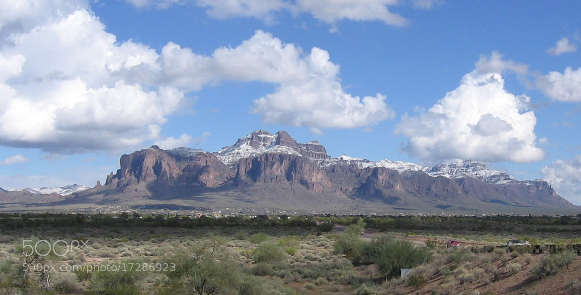 Photograph Snowy Superstition by Soloman Picoult on 500px