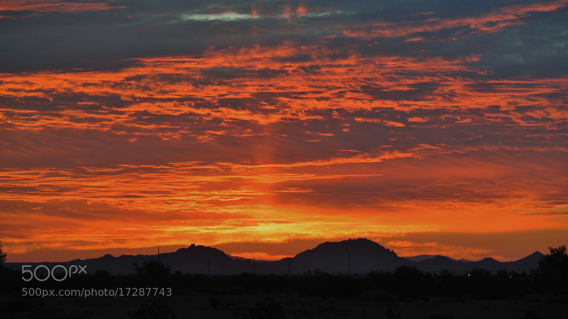 Photograph Fire in the Sky by Soloman Picoult on 500px