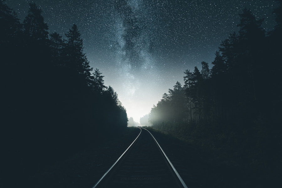 Way of Light by Mikko Lagerstedt on 500px.com