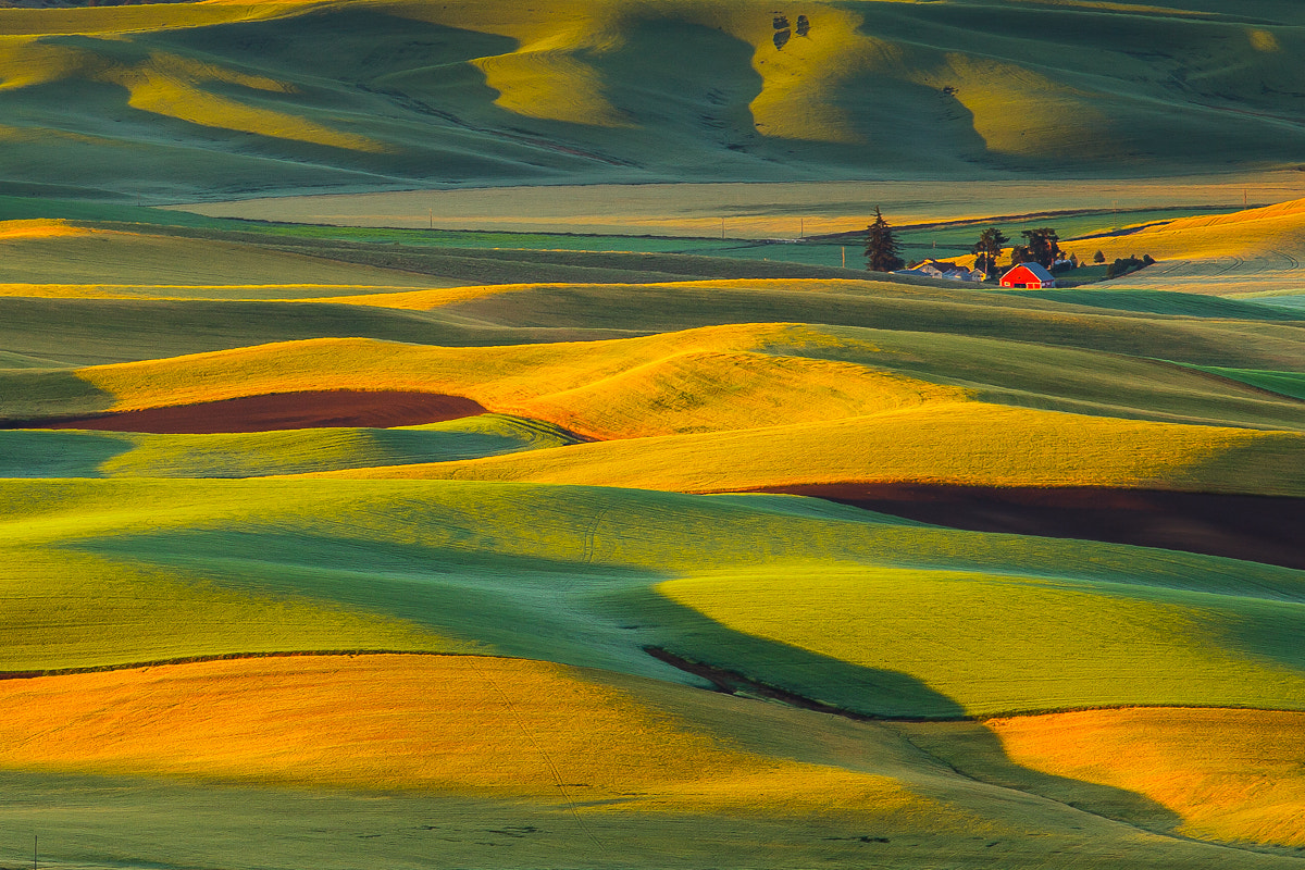 Photograph Palouse Sunset by Putt Sakdhnagool on 500px