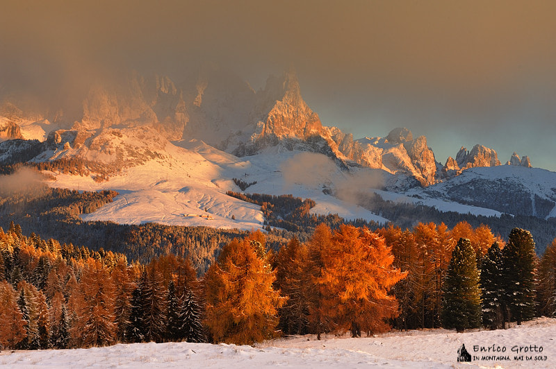 Photograph Into The Light | Dolomites by Enrico Grotto on 500px