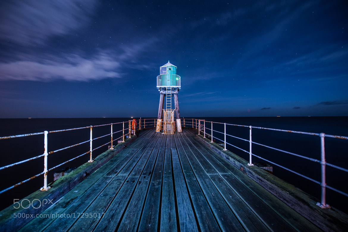 Photograph Whitby Pier by WilsonAxpe /  Scott Wilson on 500px