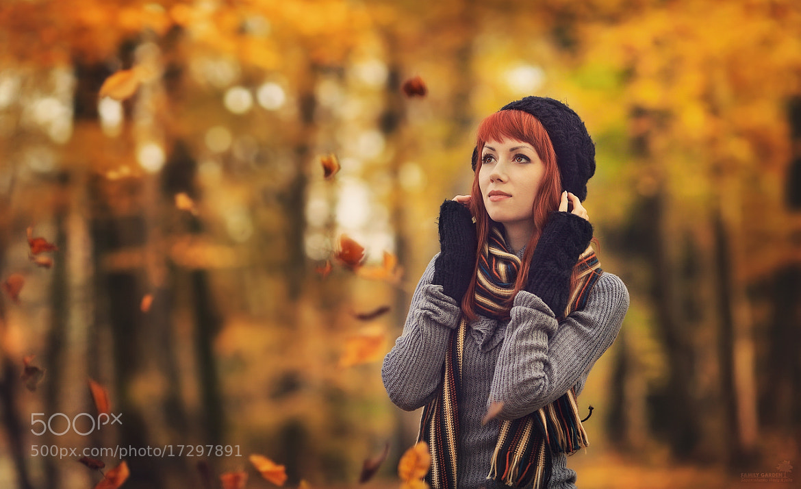 Photograph Autumn Blues by Vitaly & Julia Zaporozhenko on 500px