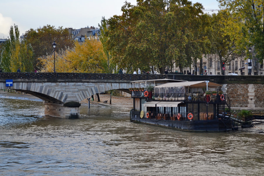 Paris in Autumn by Sandra on 500px.com