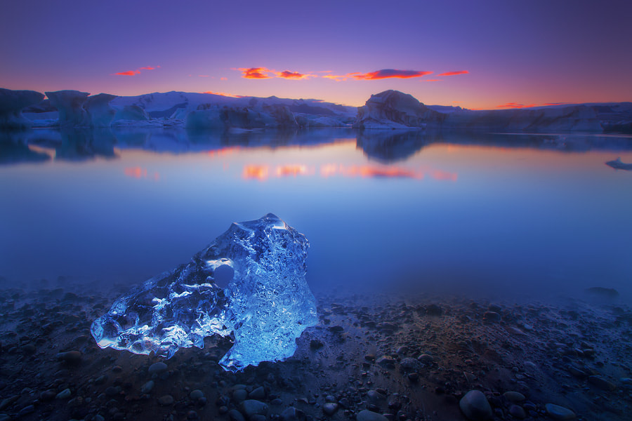 Photograph Ice Skull by Dylan Toh  & Marianne Lim on 500px