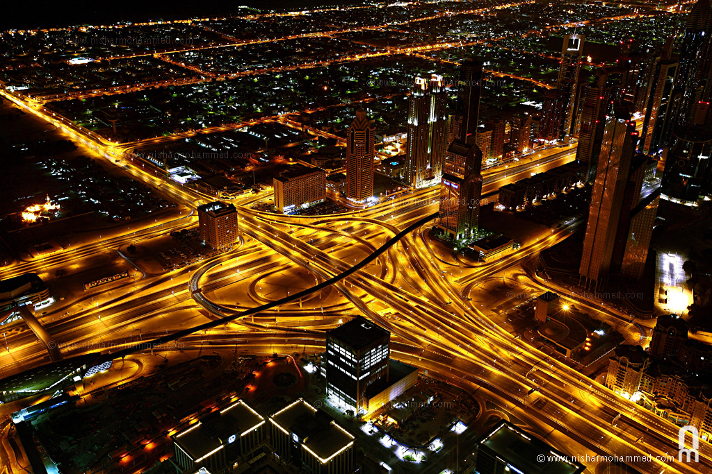 Photograph Night view from the top by Nishar Mohammed on 500px