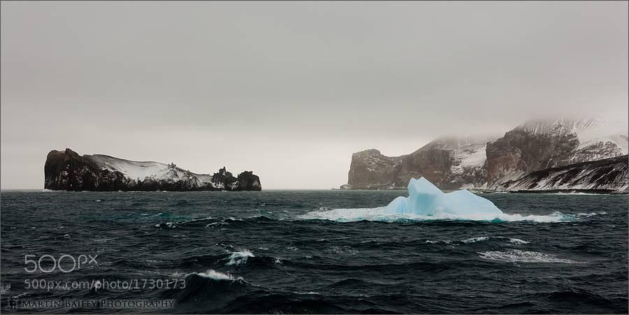 Photograph Deception Island Iceberg by Martin Bailey on 500px