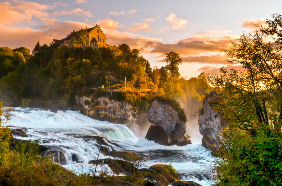 Photograph Rhine Falls by Matteo Bombardi on 500px