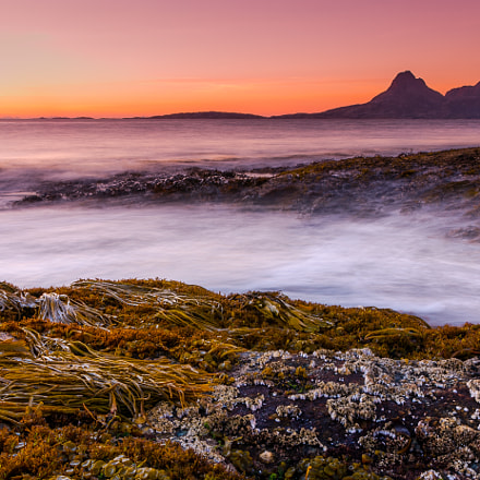 Seascape sunset from North, Canon EOS 5D MARK III, Sigma 28mm f/1.8 DG Macro EX