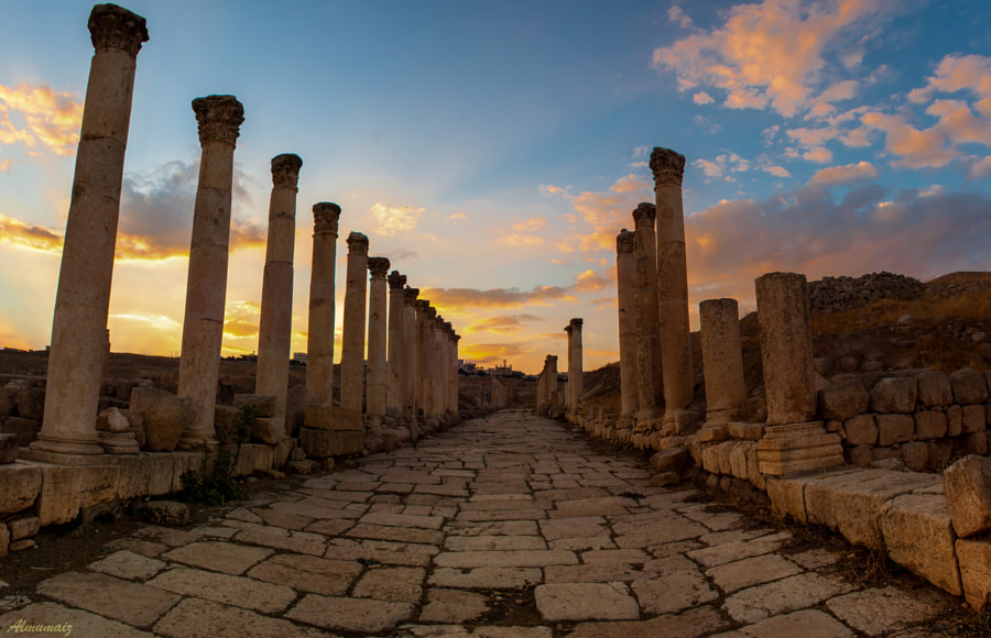 Photograph the city of Jarash  by Haytham Al-Mumaiz on 500px