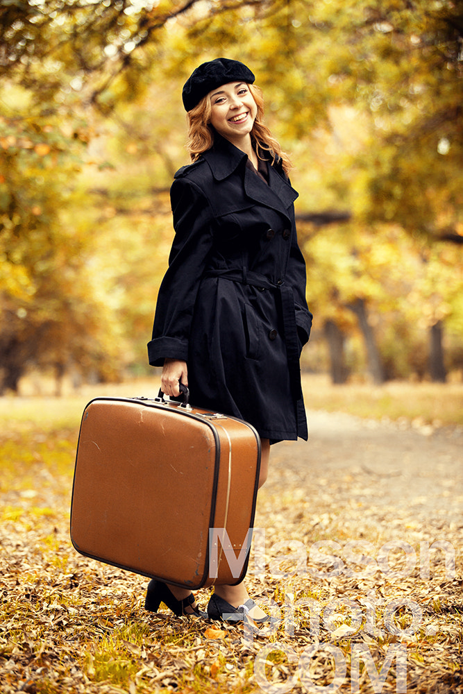 Photograph Style redhead girl with bag at the autumn park. by Vladimir Nikulin / Masson on 500px
