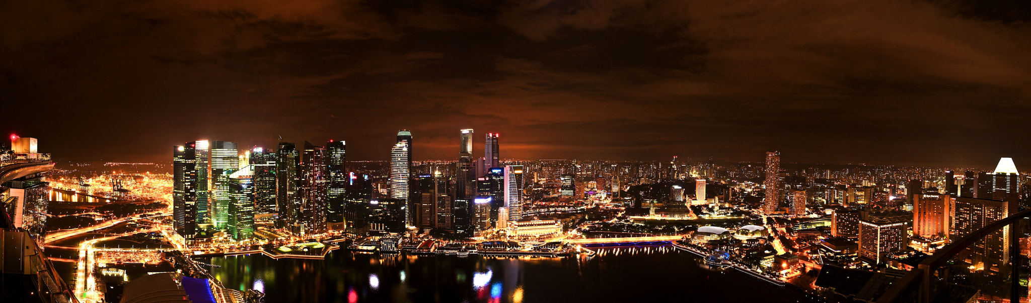 Photograph The Lion City - View Of Marina Bay by Sean Cheng on 500px