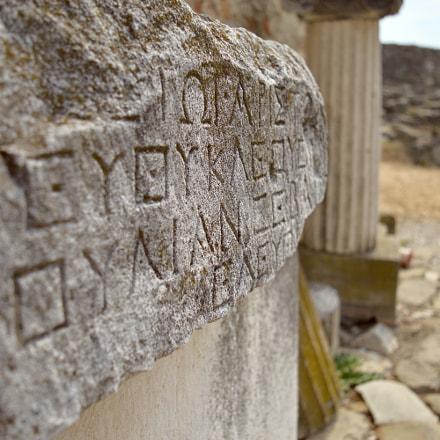 Old Greek writing's