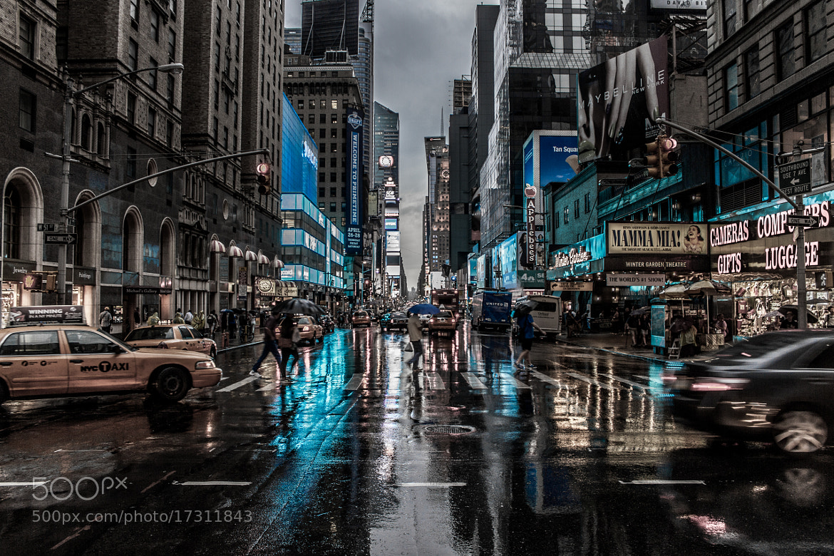 Photograph NY Blue Blues by Nigel Bullers on 500px
