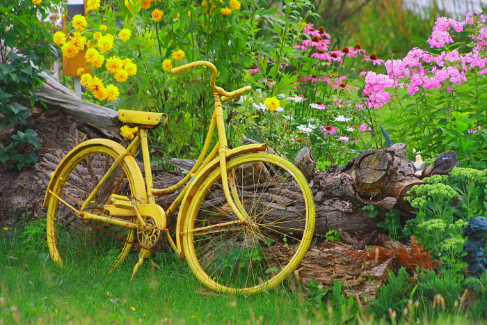 Photograph The Yellow Bike by Fred Clark on 500px