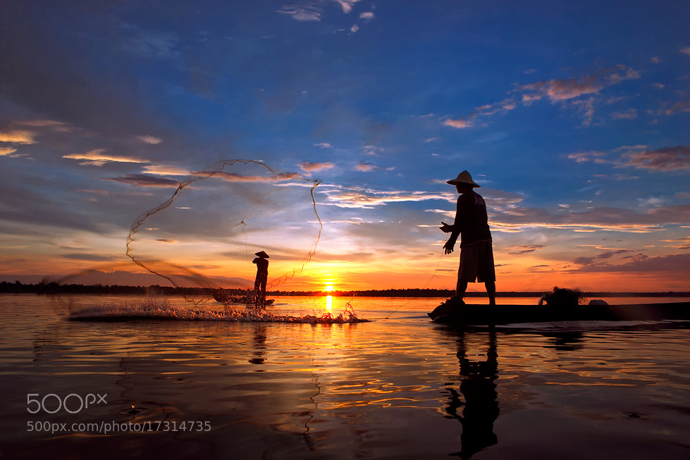 Photograph Twin nets by Saravut Whanset on 500px