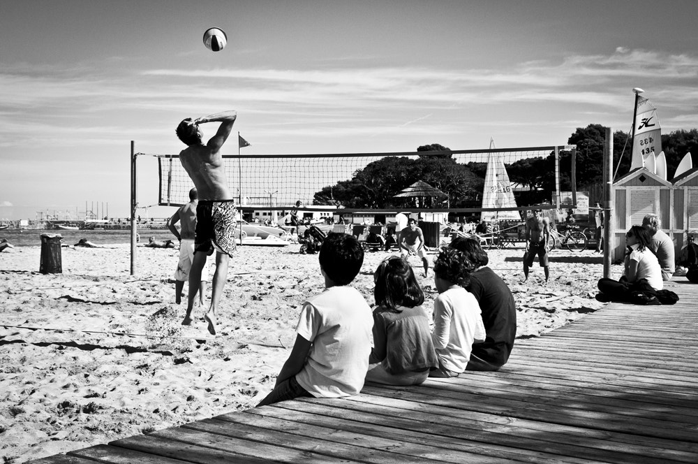Photograph Beach volley time by Francesco Zappalà on 500px