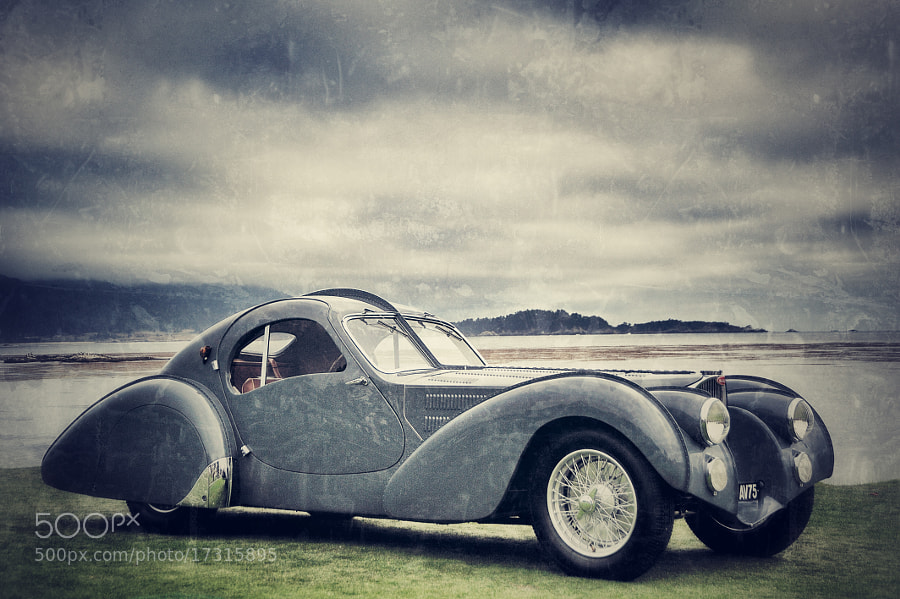 BUGATTI TYPE 57 ATLANTIC COUPÉ
