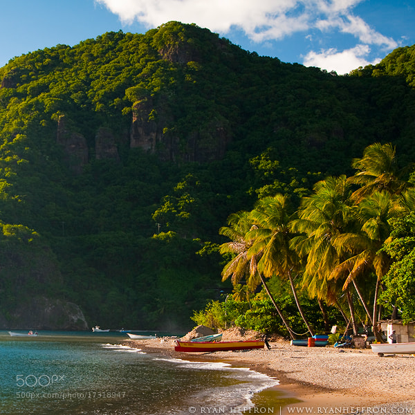 Photograph Soufriere Beach by Ryan Heffron on 500px