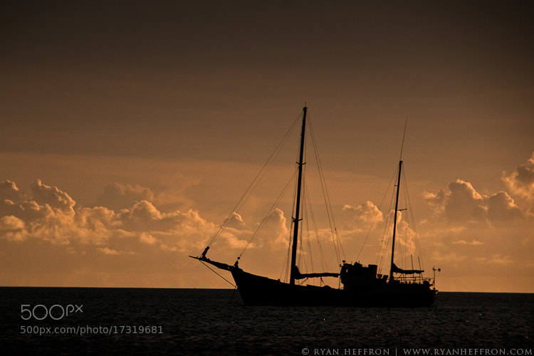 Photograph At Sea by Ryan Heffron on 500px