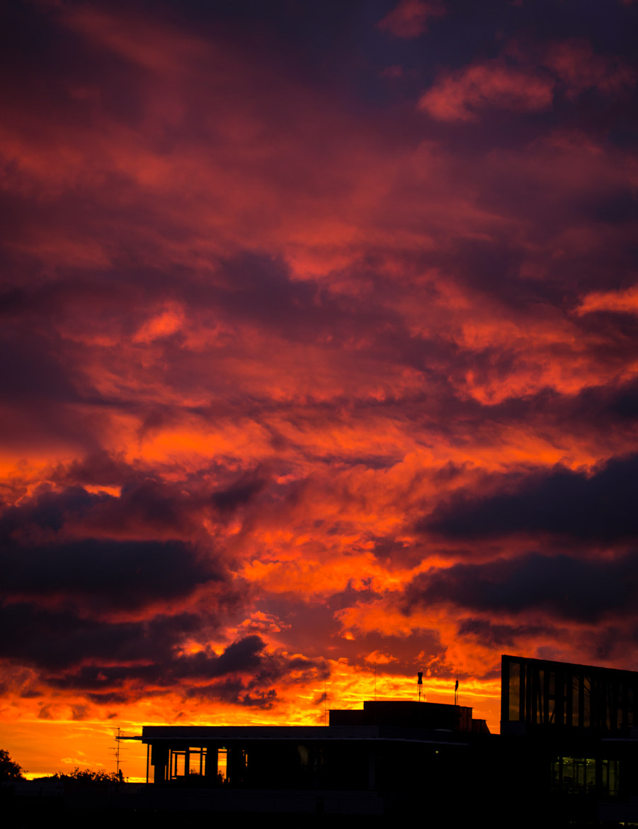 Photograph burning sky by Daniel Wallace on 500px