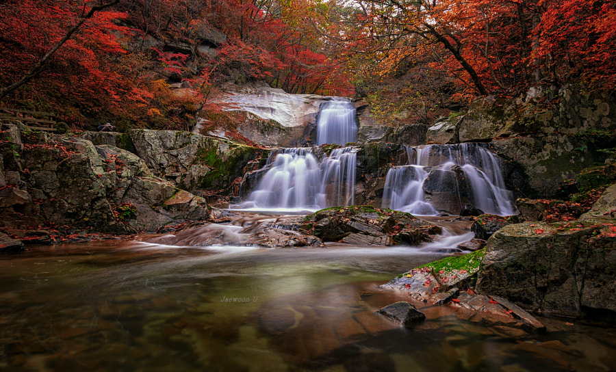 Twin Waterfall by Jaewoon U on 500px.com