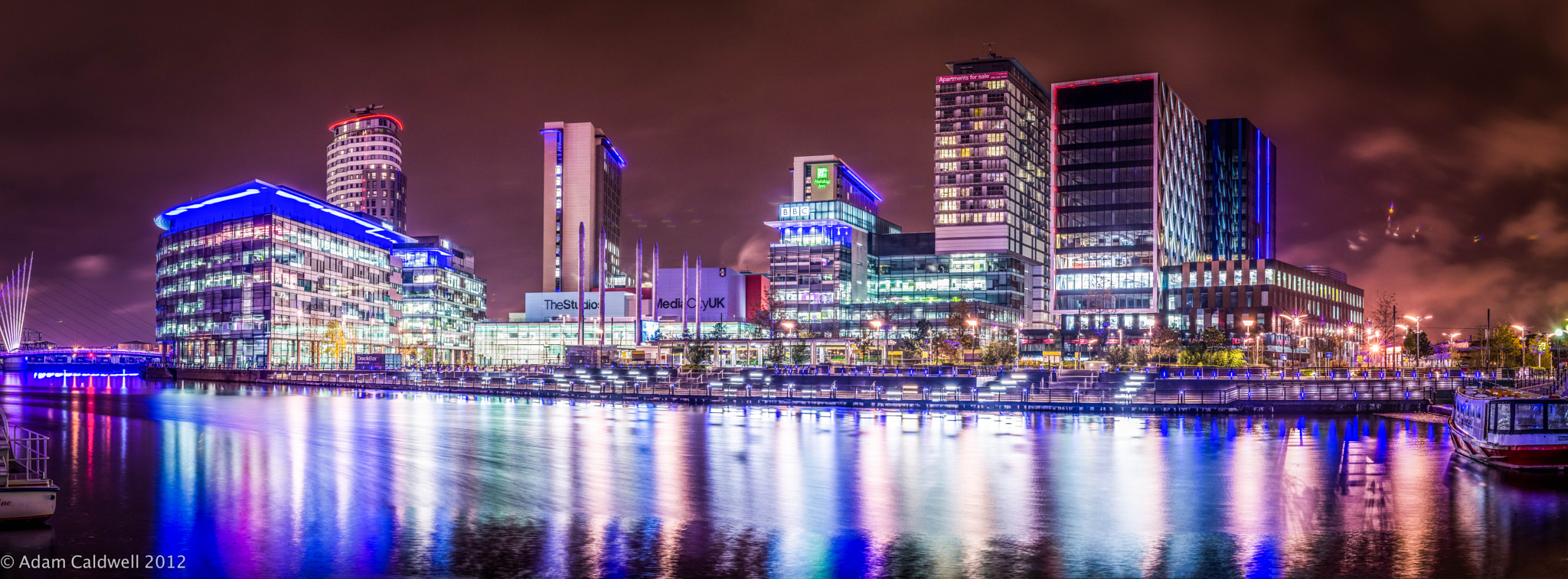 Photograph Salford Quays Panorama by Adam Caldwell on 500px