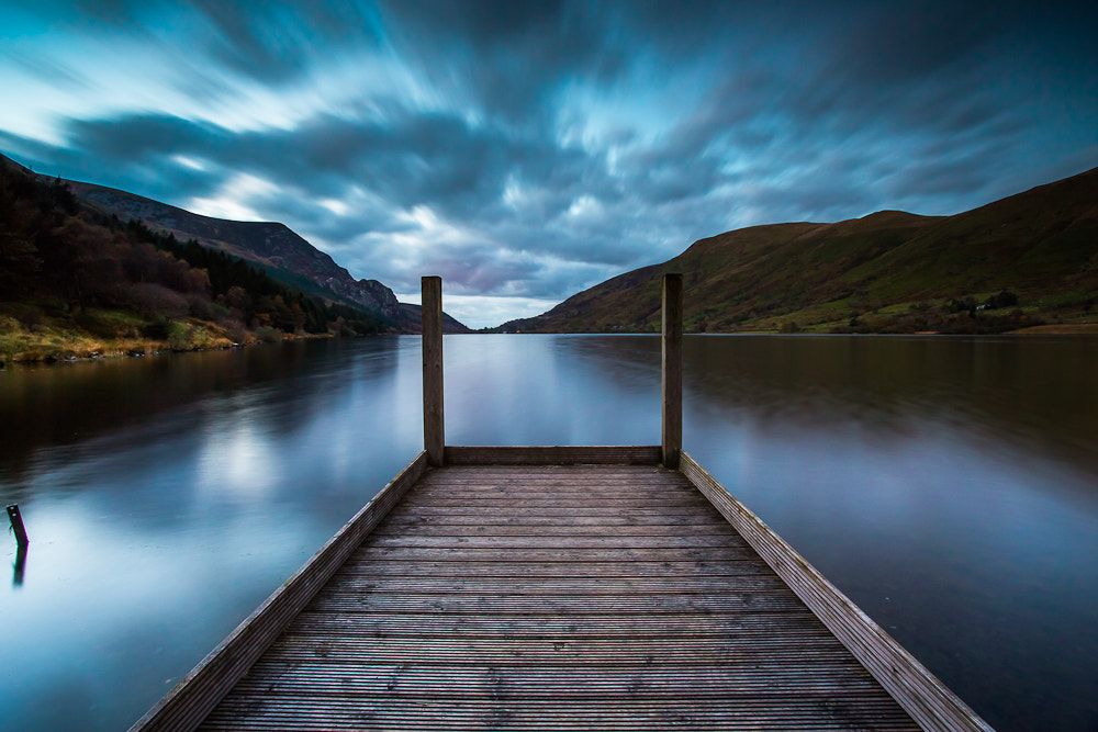 Photograph Llyn Cwellyn at sunset by Anup Matharu on 500px