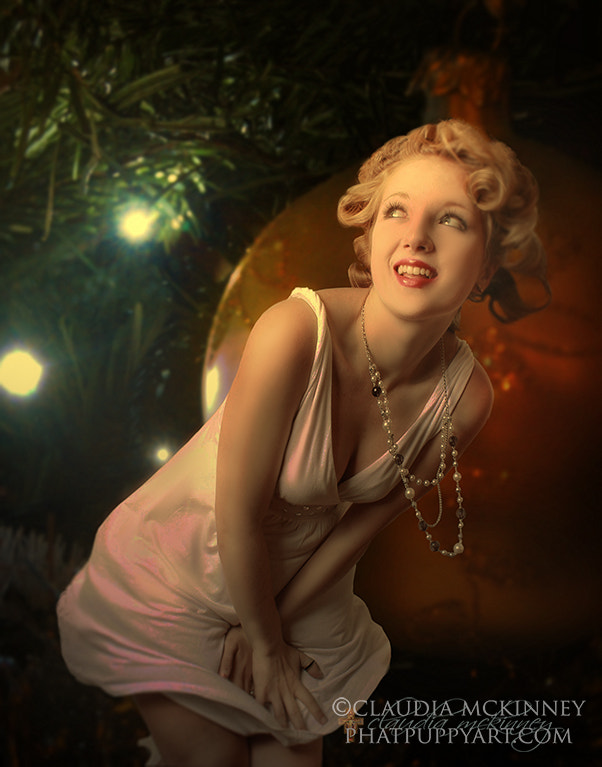 Photograph Pin-up Christmas by Phatpuppy Art on 500px