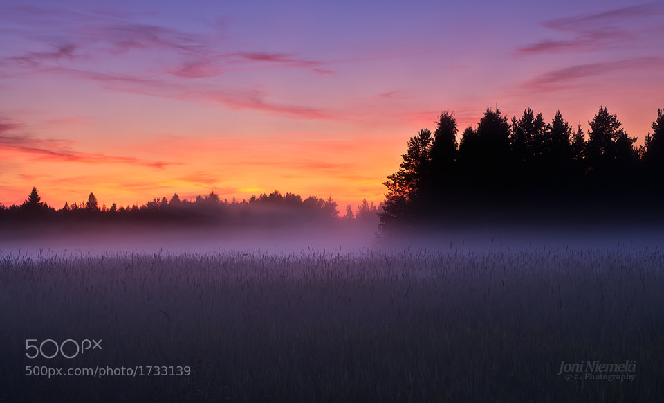 Photograph August Mist II by Joni Niemelä on 500px