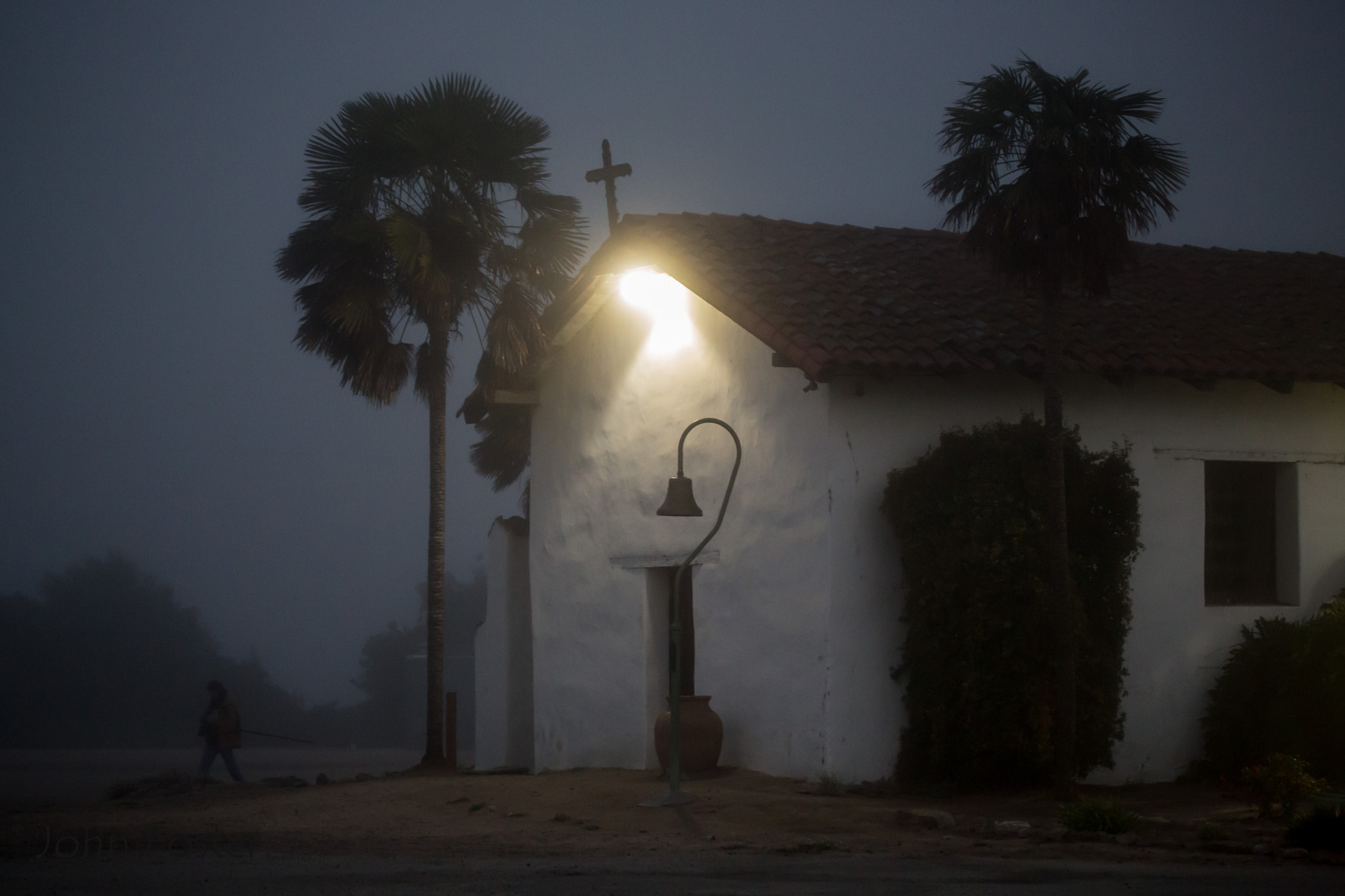 Photograph Morning fog at Mission Soledad in California by John Foster on 500px