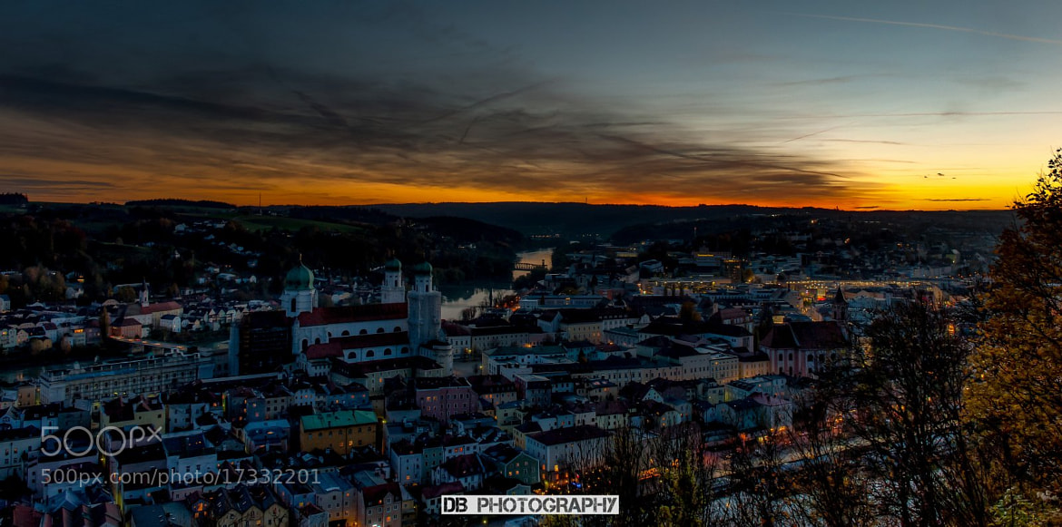 Photograph View over Passau by Hans Weichselbaumer on 500px