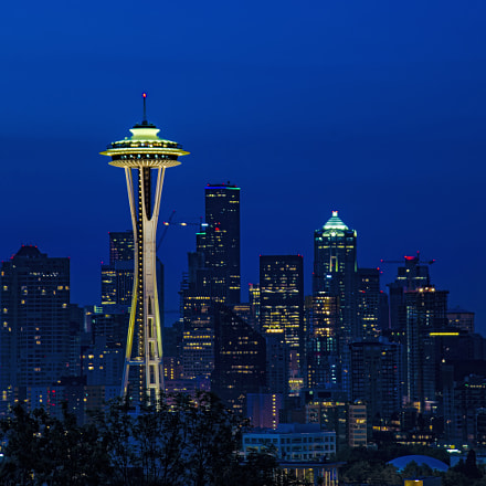 Space Needle Tower, Nikon D800, Sigma 28-200mm F3.5-5.6 Compact Aspherical Hyperzoom Macro