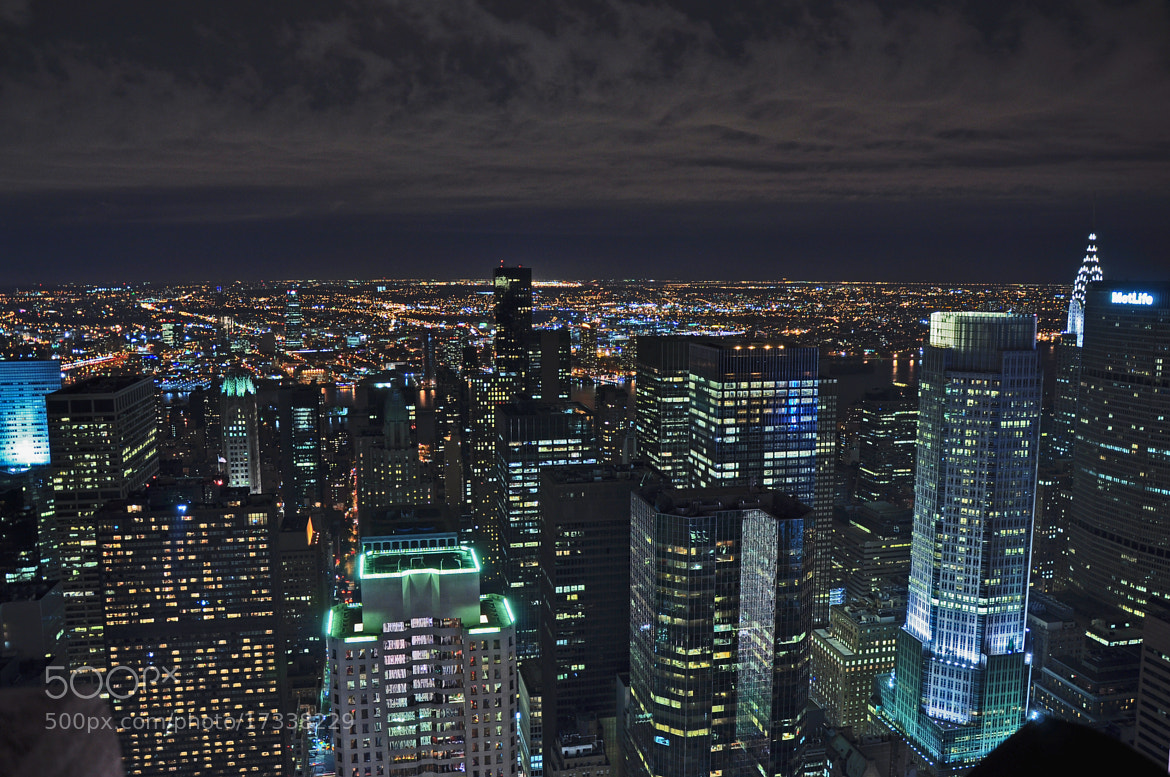 Photograph New York at Night by Shaun Fernandes on 500px