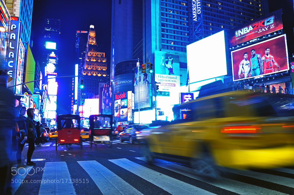 Photograph Times Square NYC by Shaun Fernandes on 500px