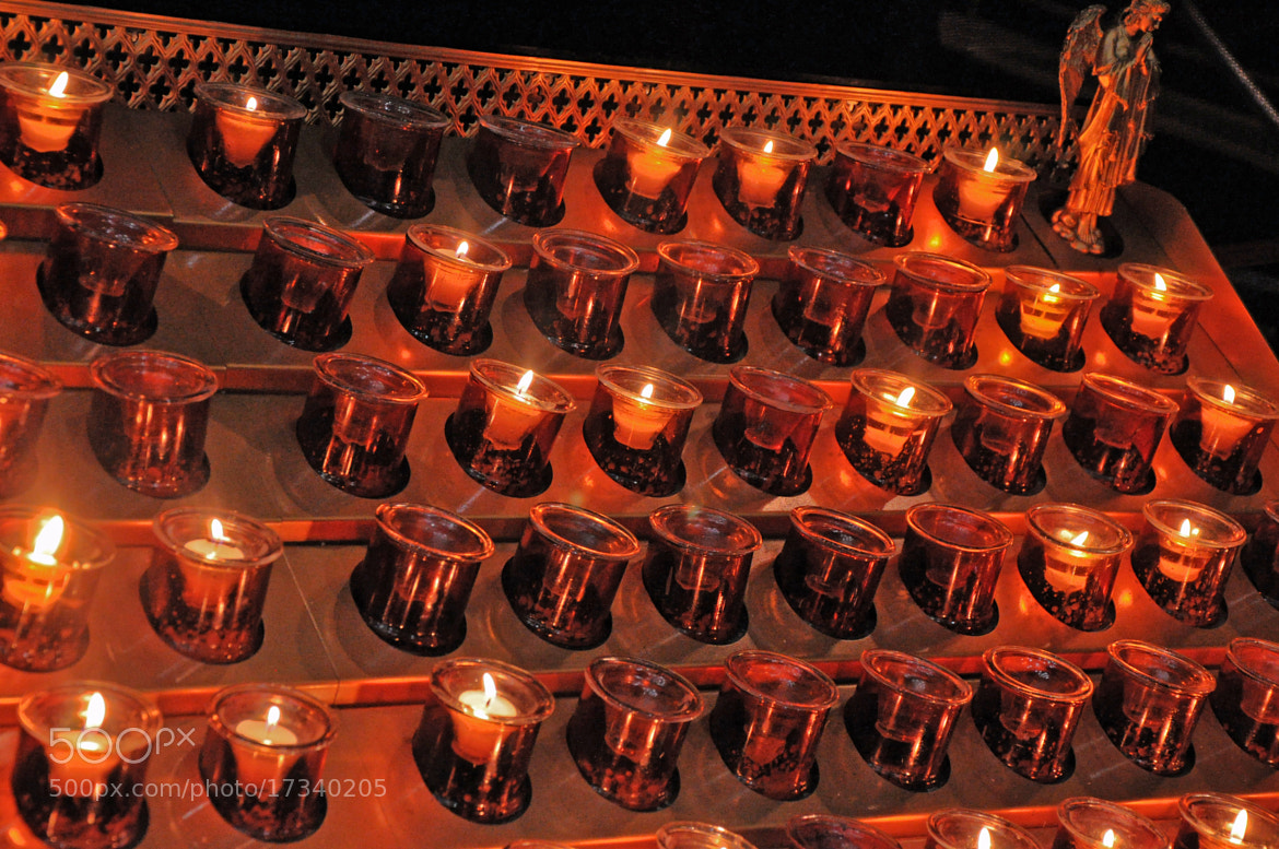 Photograph Church Candles by Shaun Fernandes on 500px