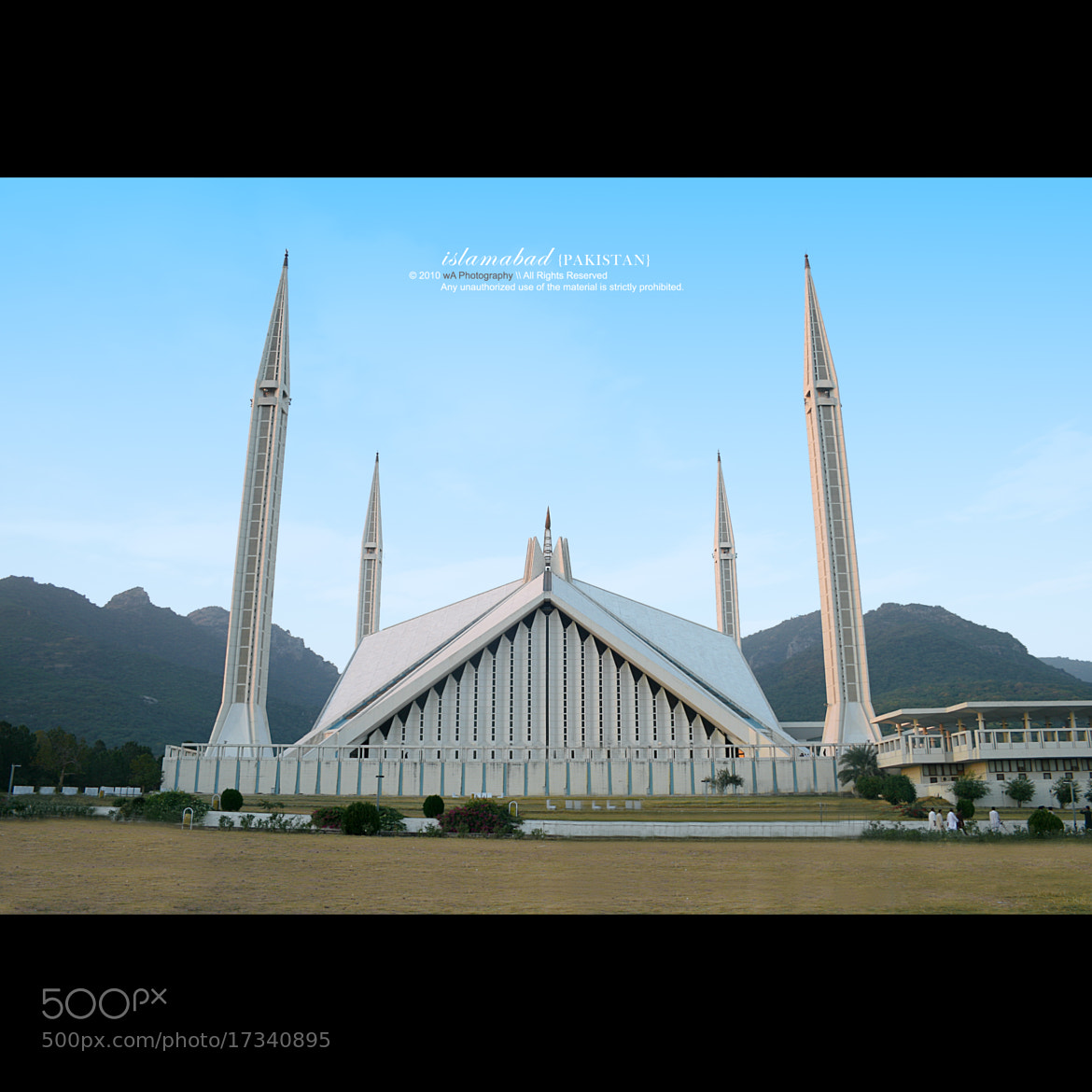 Photograph The Faisal Mosque . by Waseef Akhtar on 500px