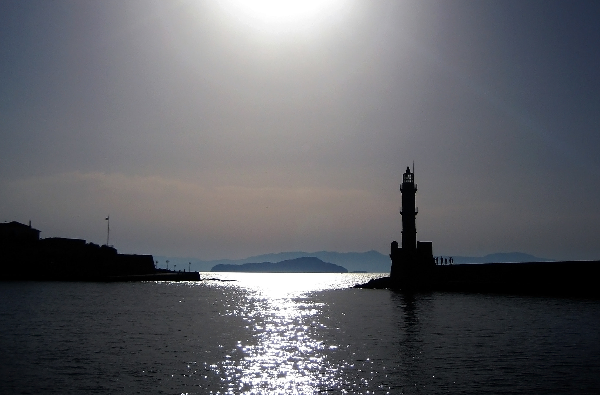 Photograph Lighthouse Chania by Svein Verpeide on 500px