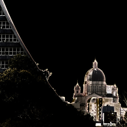 CATHEDRAL, Canon EOS KISS DIGITAL N