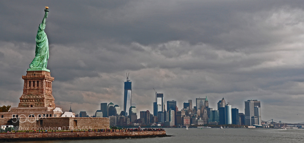 Photograph Statue of Liberty New York by Shaun Fernandes on 500px