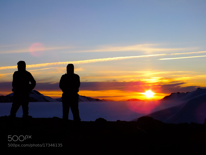 Photograph Atardecer sobre el glaciar II by Itamar Chavez Tapia on 500px