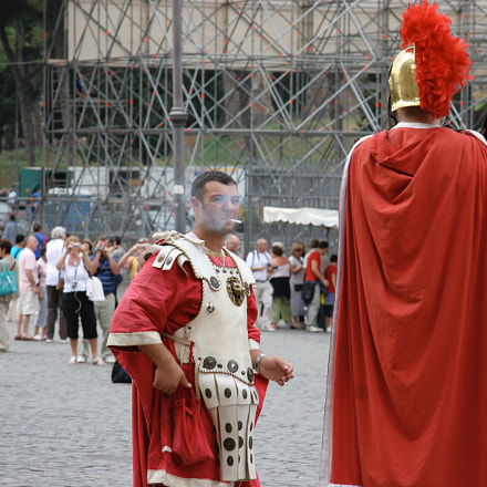 Legionaries 4, Canon EOS 20D, Canon EF-S 17-85mm f/4-5.6 IS USM
