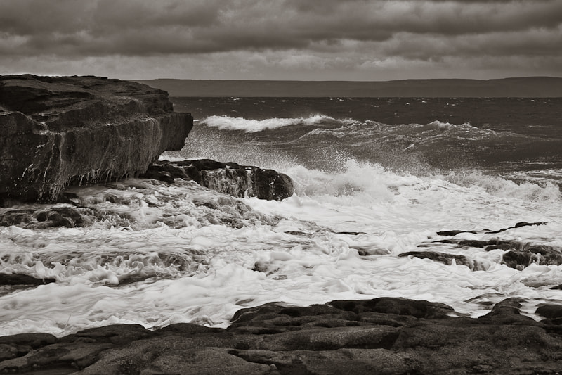 Photograph Inis Oirr Waves by Noel Kelly on 500px