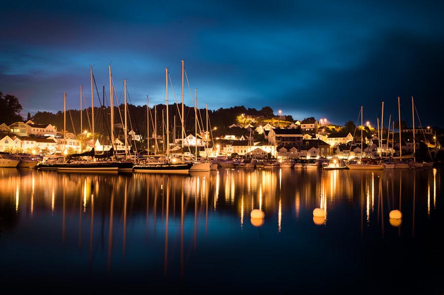 Grimstad harbor