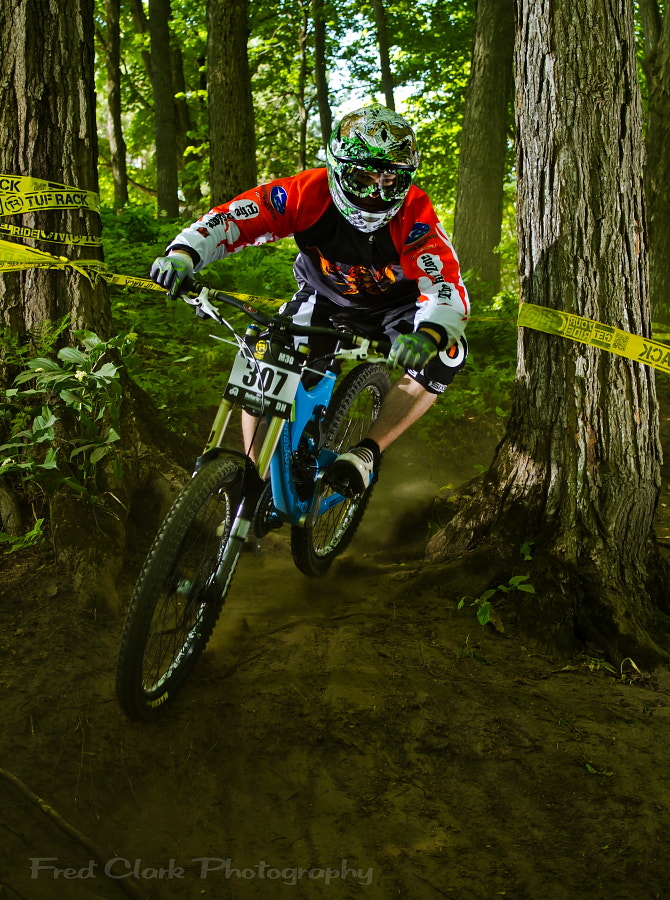 Photograph Ontario Cup Downhill 2012 by Fred Clark on 500px