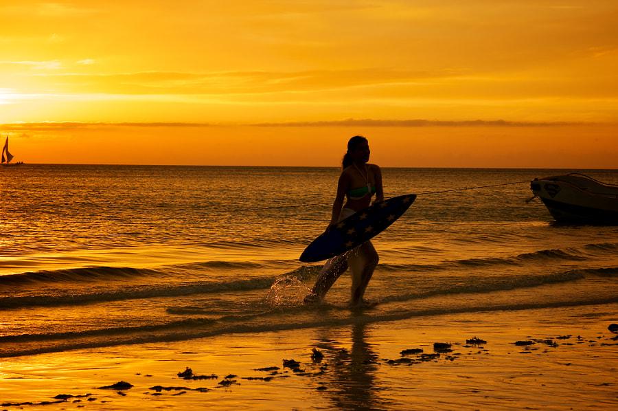 Surfer from Boracay